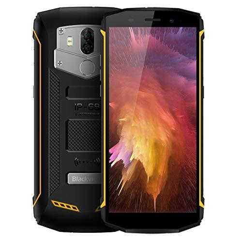 "Robustes Smartphone, Blackview BV5800 Pro, IP68 Wasserdicht Smartphone, Freigeschaltetes Mobiltelefon 5580mAh Akku 5V/2A Schnellladung, 5.5"" 13MP Kamera Android 8.1 4G Outdoor Handy"