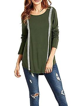 Donna T Shirt Vintage Manica L