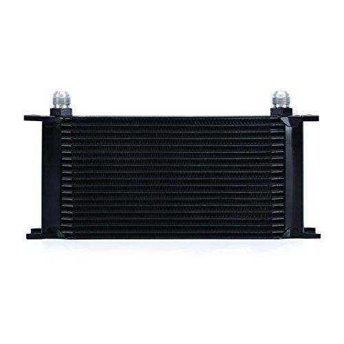 Mishimoto MMOC-19BK Universal radiatore olio con 19 file, Nero