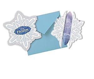 Unique Party Frozen, Tarjetas de Invitación para Cumpleaños
