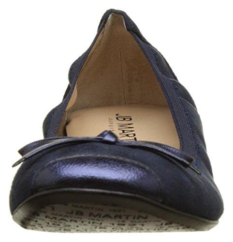 Jb Martin Damen 1mistral Ballerinas Bleu (T Suede Stret Nuit/Ch Br Ocean)