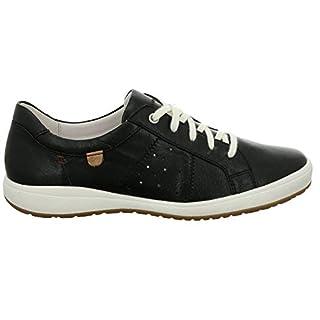 Josef Seibel 67701 Caren 01 Damen Low-Top Sneaker,Halbschuh,Schnürschuh,Strassenschuh,Business,Freizeit,schwarz,41 EU