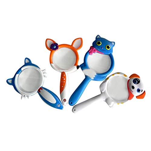 STOBOK Kunststoff Lupe kreative lustige pädagogisches Spielzeug Lupe für Baby Infant Kid (Deer)