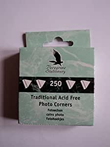 Paperchase 500 transparent photo corners