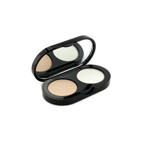 Sheer Finish Pressed Powder (New Creamy Concealer Kit - Porcelain Creamy Concealer + White Sheer Finish Pressed Powder - 3.1g/0.11oz)