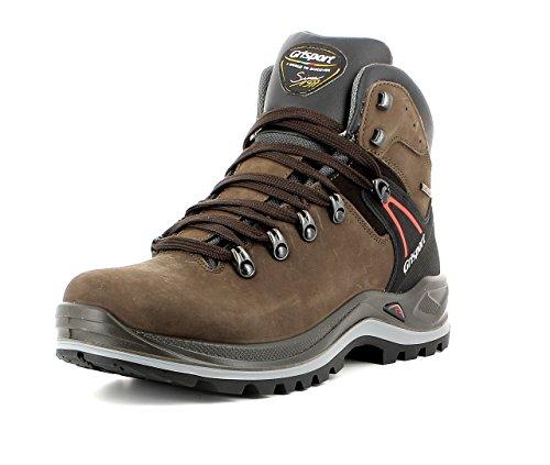 Grisport Unisex Schuhe Herren und Damen aus der Ranger Linie, Trekking- und Wanderstiefel aus hochwertigem Leder, Membrankonstruktion, N34, EU 43