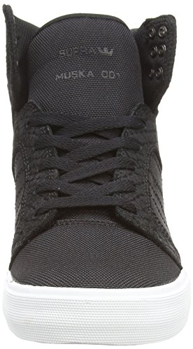 Supra  SKYTOP, Baskets hautes mixte adulte Noir (Black/White)