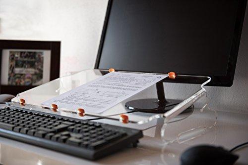 Orgapult light, Dokumentenhalter, Papier Ablage, Notebook Ständer, Dokumentenablage, Vorlagenhalter, Ergo Pult
