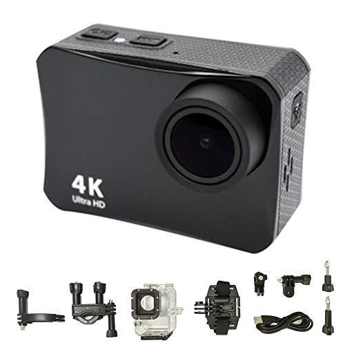 Blue-Yan HD Kamera 4K 2.0 Zoll 60M wasserdicht DV-Halterung - Fernsteuerung Digital Sports Camare