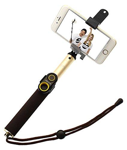 Galleria fotografica ASHUTB S6-Kit-Kit per Smartphone per Selfie, con 6 accessori foto, colore: nero/giallo