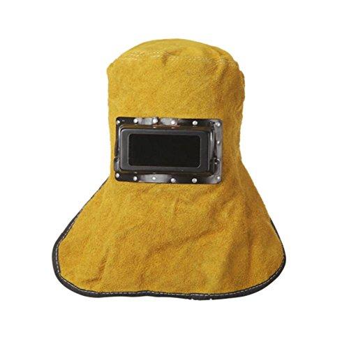 broadroot Cosplay Welder Augen Maske Künstliche Kuh Leder Schweißen Schützen Objektiv Gläser Kapuze Helme