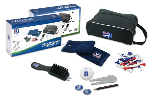 PGA Tour Golf Shoe Bag And Accessory Set