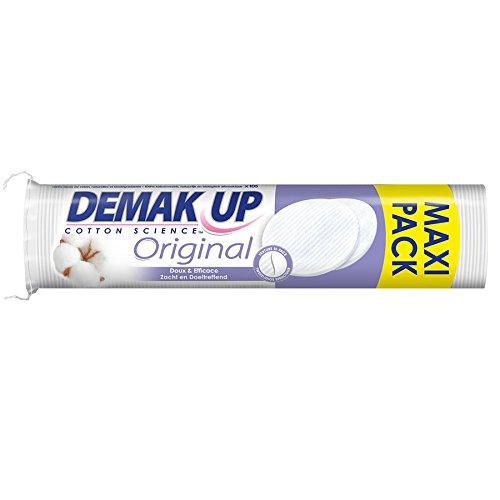 Demak'up Original Set de 105 Cotons Disques à Démaquiller - Lot de 4