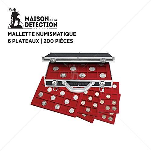 Maletín con 6 bandejas para 229 piezas