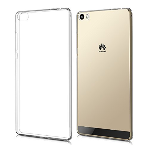 kwmobile Huawei P8 Max Hülle - Handyhülle für Huawei P8 Max - Handy Case in Transparent