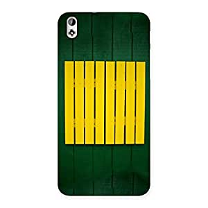 Green Squares Yello Back Case Cover for HTC Desire 816