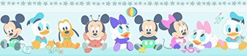 Dandino MK 3500-1 Cenefa Mickey and Friends, Azul, 25x20x20 cm