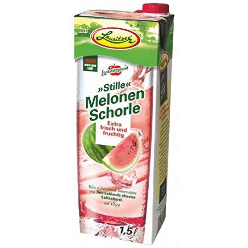 Lausitzer Stille Schorlen - Stille Melonen-Schorle (8 x1,5 l)