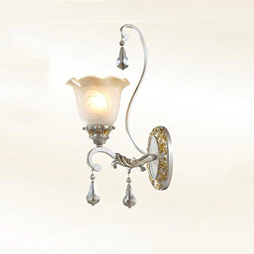 GKJ Applique, Lampe de chevet simple tête, Chambre à coucher Lampe de salon