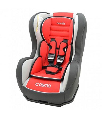 MyCarSit - Silla de coche para niños Nania, de 0 a 18 kg, color rojo carmín
