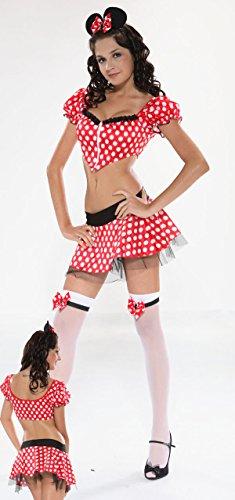 men Rollenspiel Mickey Minnie Prinzessin Kleid Kostüm Halloween-Party Kostüme DS Nacht (Halloween Minnie)