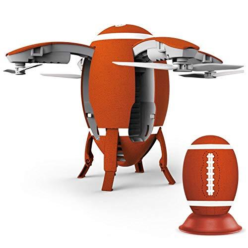LIULAOHAN Schrumpfbare Drohne, Mobile App und Sprachsteuerung for Flug, HD-Weitwinkelobjektiv for Fotos, for Kinder (Color : Red) Beständig Remote