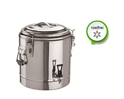 Thermogetränkebehälter Getränkebehälter Thermobox Thermobehälter (12 L)