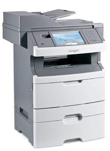 Lexmark X466dte Multifunktionsgerät (Monochrome-Laserdrucker, Scanner, Kopierer, Fax)