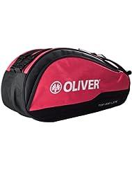 af2fcbdece Oliver top Pro Thermobag per racchette da tennis, squash, badminton, Black  / Red