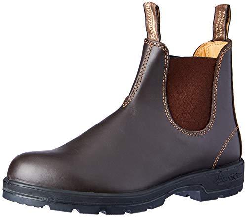 BLUNDSTONE Classic Comfort 585, Unisex-Erwachsene Chelsea Boots, Braun (Rustic Brown), 41 EU (7 UK)