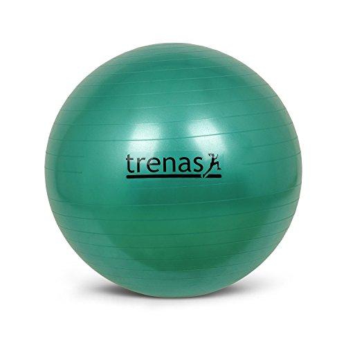 Gymnastikball, Sitzball 65 cm, berstsicher und mit Pumpe