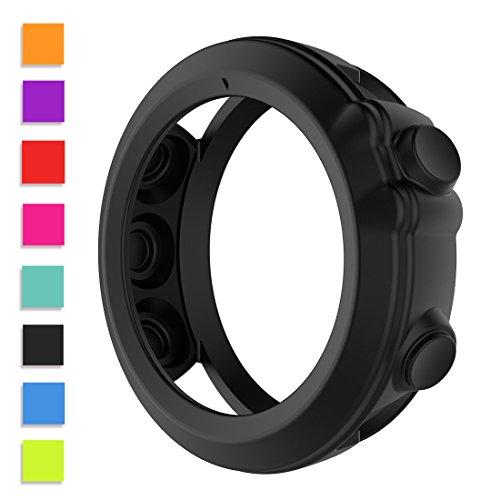 Cyeeson Soft Silicone Protector Case for Fenix 3,Fenix 3 HR,Fenix 3 Sapphire,Quatix 3,Tactix Bravo GPS Watch Smartwatch Case Cover - Silicon Protector Case