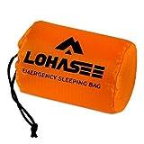 LOHASEE Compact Ultra Lightweight Sleeping Bag - Waterproof Ultralight Thermal Bivy Sack Cover