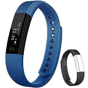Rayfit Pulsera Actividad Inteligente Reloj Deportivo Fitness Tracker Monitor de Sueño Contador de Calorías Reloj Cuenta… 2