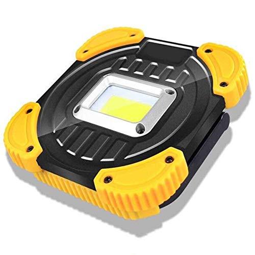 DJSMSD Laden von tragbaren Scheinwerfern Blendung Outdoor Camping Suchscheinwerfer (Color : L) -