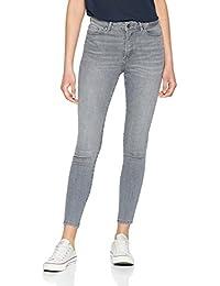 VERO MODA Damen Vmsophia Hw Skinny Jeans Grey Noos