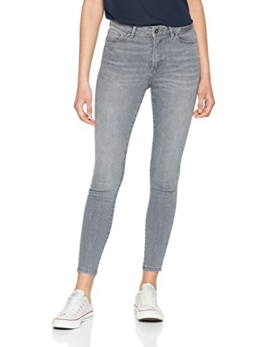 VERO MODA Damen Vmsophia HW Skinny Jeans Grey Noos, Grau (Light Grey Denim), Gr. 42 /L32 (Herstellergröße:  XL) (Light Baumwolle Grey Denim Jean)