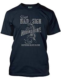 Bathroom Wall Albert King Inspired Born Under A Bad Sign Moonshine, Men's T-Shirt