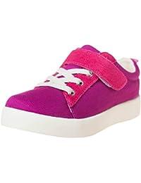 Little Blue Lamb Zapatos brogue 7120Lona y Piel Trainers Purple morado