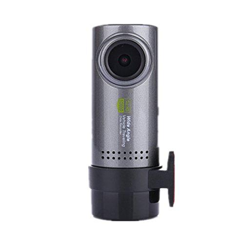 SAFETYON Mini WiFi Cámara Oculta de Coche HD 1080P Detección de Movimiento Grabación de Bucle Registro Continuo Conectar con Móvil Android e iOS Soporta Windows 2000/XP/Vista/Windows7 o Superior