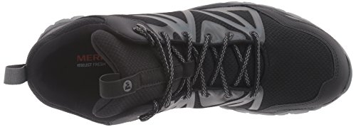 Merrell Capra Rise Mid Waterproof Chaussure Course Trial - AW16 Black