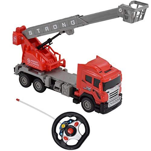 deAO funkgesteuertes Feuerwehrauto; Truck mit Kanälen- Voll funktionsfähiges Fahrzeug mit Fernbedienung*