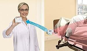 AideAlert Détecteur de mouvement avec bipeur pour savoir lorsque les patients se lèvent de leur lit ou de leur siège (pas de bruit perturbant dans la chambre du patient)
