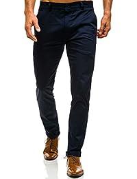 BOLF Herren Hose Chino Business Klassisch Casual Gerader Clubwear 6F6 Elegant
