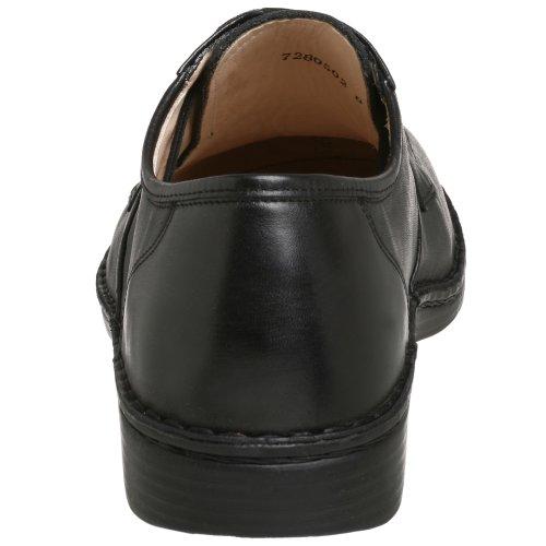 Finn Comfort Mens Hilversum Leather Shoes Black