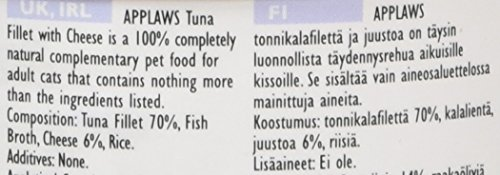 Applaws Tuna and Cheese Can 24 x 70 g