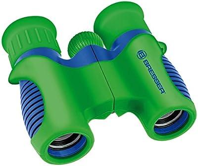 Bresser 8810621 - Prismáticos para niños (6 x 21), color verde