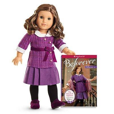 American Girl - Beforever Rebecca Doll & Paperback Book by American Girl (Doll Girl American Beforever)