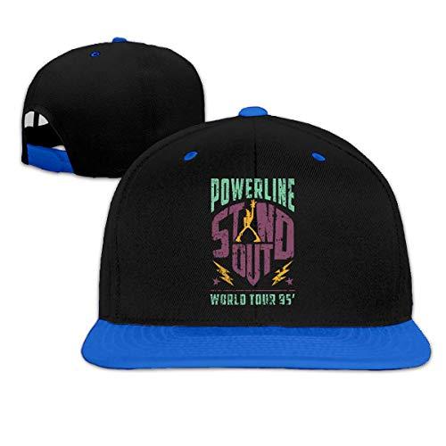 Preisvergleich Produktbild Powerline - Stand Out - World Tour 95 Vintage Summer Cool Heat Shield Unisex Hip Hop Baseball Cap