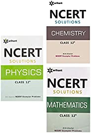 NCERT Solutions for Physics /Chemistry / Maths Class 12 (Set of 3 books)